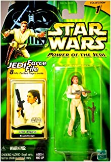 Leia Figure 1 X Star Wars: Power of The Jedi Leia Organa (Bespin Escape) Action Figure