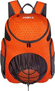Sponsored Ad - Point 3 Road Trip 2.0 Basketball Backpack with Ball & Shoe Storage