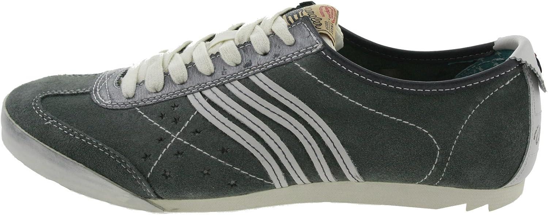 Wrangler Men's Flag Trainers grey grey