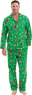 Image of Classic Flannel Snoopy Peanuts Christmas Pajamas for Men