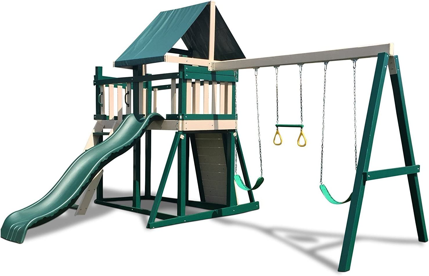 Congo Monkey Playsystem #1 with Swing Green Beam Sand Ranking TOP7 Low - Fees free and