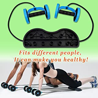 BenefitUSA Home Gym Abs Roller Exercise Body Fitness Abdomin