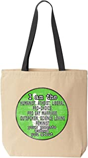 I'm the One Parents Warned About Canvas Tote