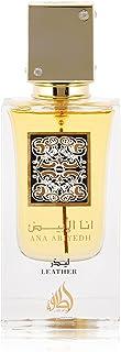 Lattafa Ana Abiyedh Leather Eau De Perfume Spray, 60 ml