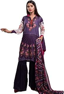 Pakistani Dresses for Women Ready to Wear Salwar Kameez Ladies Suit - 3 Piece