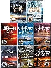 Ann Cleeves Shetland Series Collection 8 Books Set (Book 1-8) (Blue Lightning, Raven Black, White Nights, Red Bones, Cold ...