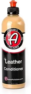 Adam's Leather & Interior Conditioner 16oz - Conditions Leather Vinyl and Plastic Interior Surfaces - Contains Premium UV ...