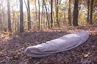 VORTEX TAN 16' 'WATERGUARD' HEAVY DUTY WATERPROOF CANOE/KAYAK COVER, FOR UP TO 16' LONG, AND FOR UP TO 9 1/2 ' GIRTH (FAST SHIPPING - 1 TO 4 BUSINESS DAY DELIVERY)