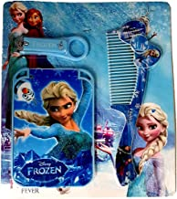Problix Frozen (Set of 6) Nail Clipper, Comb, Mirror Travel Grooming Kit Set for Birthday retrun Gifts