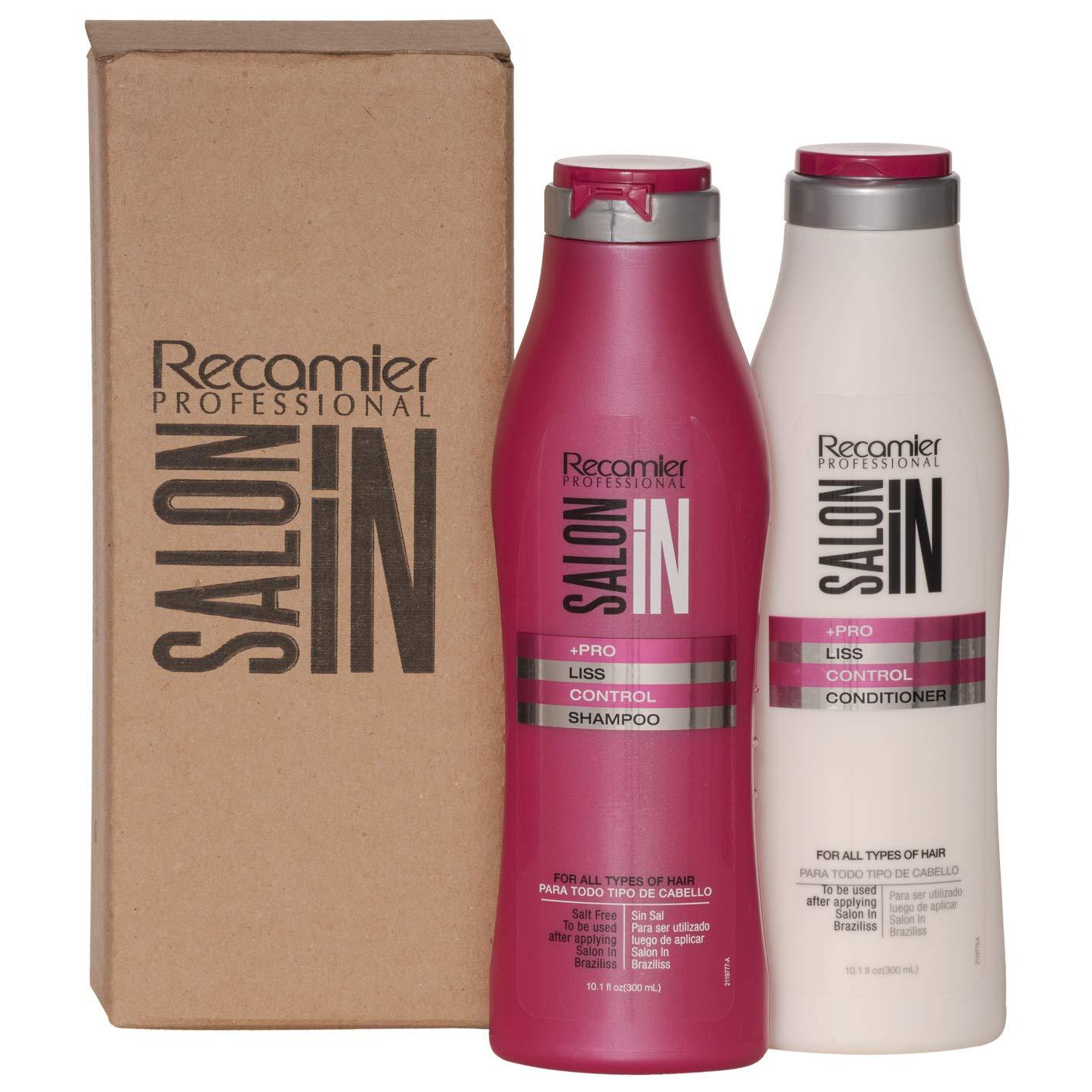 RECAMIER Tulsa Mall Anti Frizz Cheap mail order sales Shampoo Conditioner Cha Treatment Hair Set