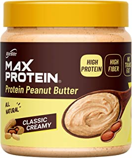 Ritebite Max Protein Peanut Butter Spread Classic Creamy ([340 gm] (Pack of 1))