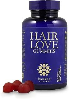 Hair Love Biotin Gummies for Hair Growth, Hair Skin and Nails Vitamins with Biotin 5000mcg, Hair Vitamins for Hair Care, N...