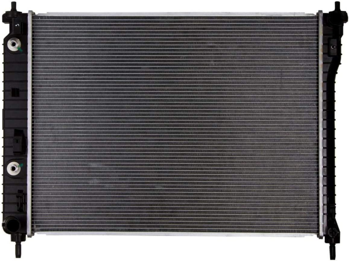 TYBC 1pc Clearance SALE Limited time Automatic 1 Row with Automotive At the price Compatible Radiator CU1