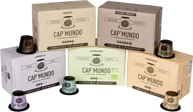 Cap'Mundo Paris Nespresso Compatible Capsules