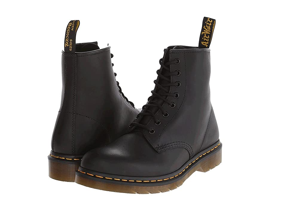 Dr. Martens 1460 (Black Greasy) Lace-up Boots
