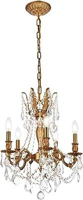"Elegant Lighting 9205D18FG/RC Royal Cut Crystal, 18"" x 19"""