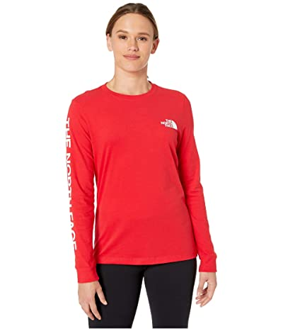The North Face Long Sleeve Brand Proud Tee (TNF Red) Women
