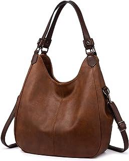 Realer Handtasche Damen Shopper Leder Umhängetasche Groß Schultertasche