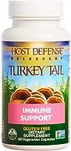 Host Defense - Turkey Tail Mushroom Capsules, Naturally Supports Immune Response, Non-GMO, Vegan, Organic, 60 Count