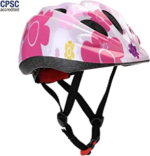 Dostar Kids Bike Helmet Toddler Bicycle Helmets S Size for 2-6 Years Old Child M Size for 5-14 Years Old Youth Boys Or Girls