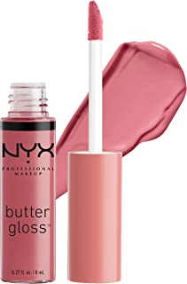 NYX PROFESSIONAL MAKEUP Butter Gloss - Angel Food Cake, True Mauve