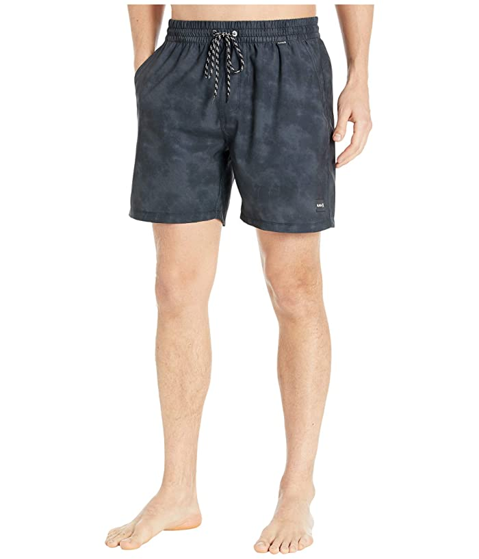 Hurley  17 Paradise Volley Boardshorts (Black) Mens Swimwear