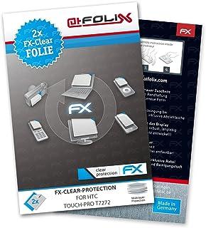atFoliX FX-Clear skärmskydd för HTC Touch-Pro T7272 (2 stycken)