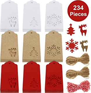 Best christmas tree gift tags Reviews
