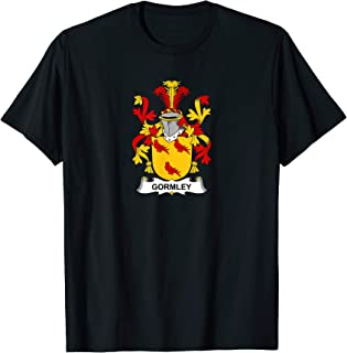 Gormley Coat of Arms - Family Crest T-Shirt