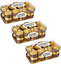 Ferrero Rocher Combo Pack Chocolate 16 Pieces (Pack of 3)