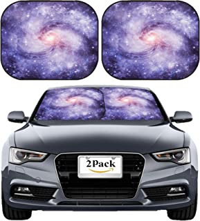MSD Car Sun Shade Windshield Sunshade Universal Fit 2 Pack, Block Sun Glare, UV and Heat, Protect Car Interior, Image ID: 25077190 Stars of a Planet and Galaxy in Free Space Elements