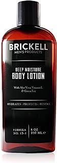 Brickell Men's Products – Loción Corporal de Hidratación Profunda para Hombres - 8 oz - Natural y Orgánica - 237 ml