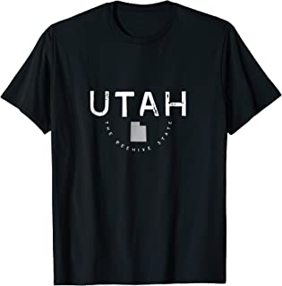 Utah The Beehive State Graphic Vintage Retro T Shirt