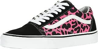 Vans Unisex Shoes Old Skool Sneakers (14.5 M US Women / 13 M US Men, (Leopard) Pink/Black)