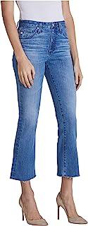 AG Adriano Goldschmied Women's Jodi High-Rise Slim Fit Flare Leg Crop Jean