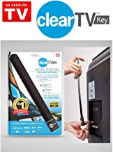 US Clear TV Key HDTV Free TV Digital Indoor Antenna Ditch Cable As Seen on TV