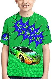 Boys Girls 3D Graphic Printed T-Shirt Short Sleeve Shirts Tops