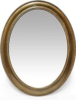 Best antique gold finish mirror Reviews