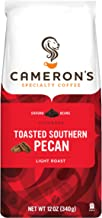 Cameron's Coffee Roasted Ground Coffee Bag, Flavored, Toasted Southern Pecan, 12 Ounce
