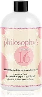 Philosophy Sweet 16 Limited Edition Cinnamon Buns Shower Gel, 16 Ounce