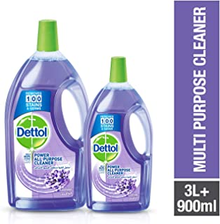 Dettol Lavender Healthy Home All Purpose Cleaner 3L+900ml Free