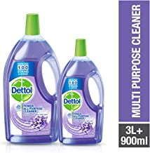 Dettol Lavender Healthy Home All- Purpose Cleaner 3L + 900ml