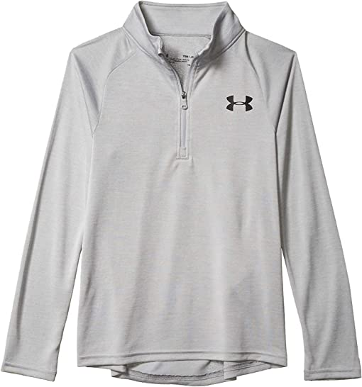 1//4 Zip To Long Sleeve Junior Boys Under Armour Raid 1//4 Zip Jacket In Green