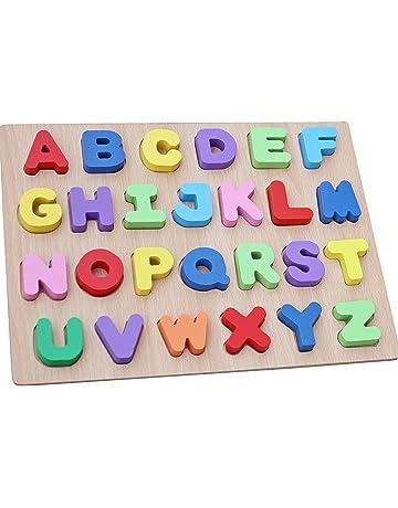 dd88d204d912e WONZOM 積み木 パズル アルファベット 知育 玩具 幼児 子供 教育 教材 木のおもちゃ ブロック パズル 木製