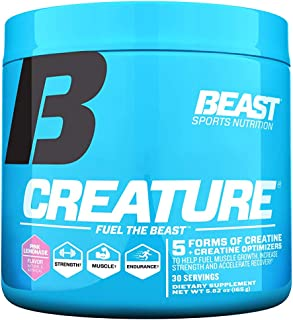 beast creature creatine results