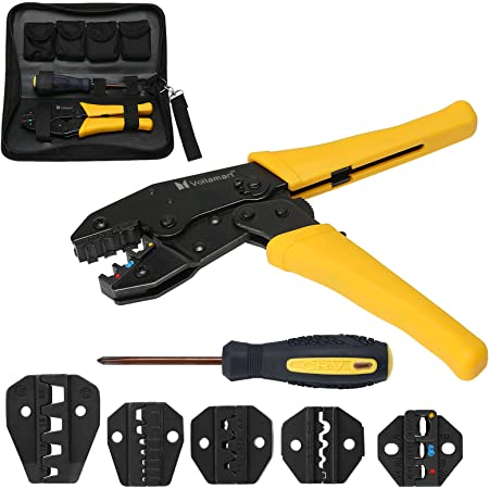 Details about  /Pliers 0.5-35 mm2 Crimping Tool Kit