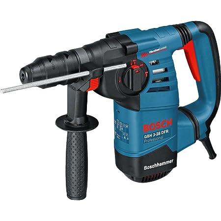 Bosch Professional 061124A000 Martello Perforatore GBH 3-28 DFR, Potenza del Colpo Max: 3.1 J, Mandrino Intercambiabile SDS Plus, W, 800 Watt