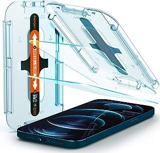 Spigen GLAStR EZ FIT [2 Pack] designed for iPhone 12 Pro MAX Screen Protector (6.7 inch) Premium Tempered Glass - [Case Fr...
