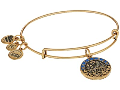 Alex and Ani Places We Love Boston III Bangle (Rafaelian Gold) Bracelet