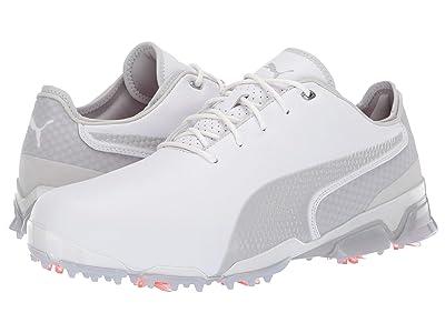 PUMA Golf Ignite ProAdapt (White/Grey) Men